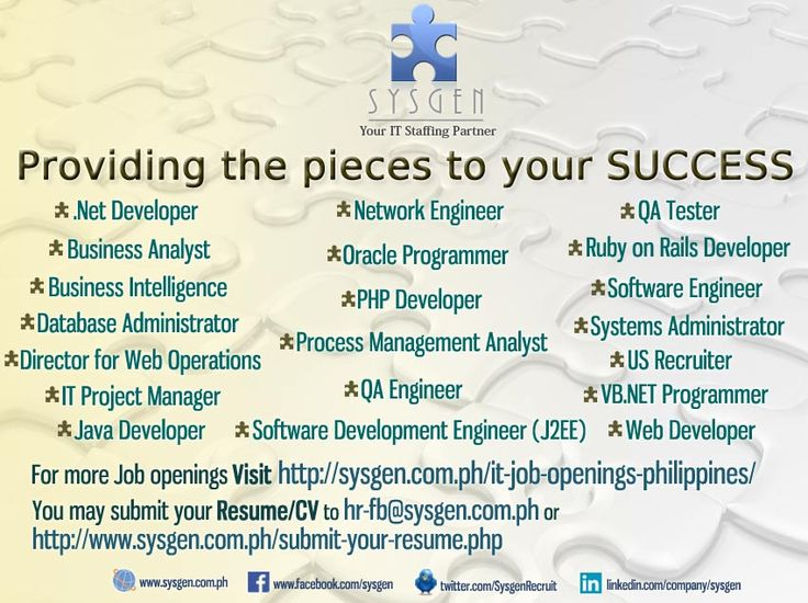 19 best Posters images on Pinterest Posters, Career and Changu0027e 3 - system analyst job descriptions