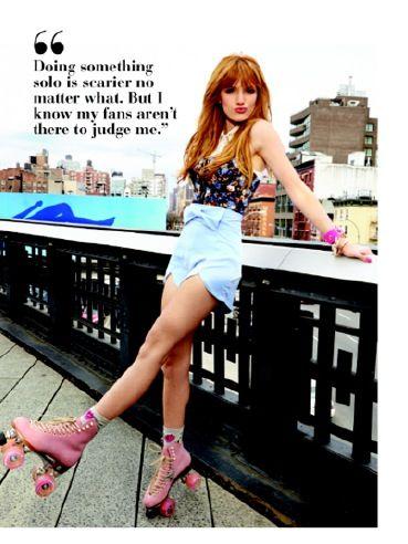 Bella Thorne rollin in Moxi Roller Skates! - Moxi Roller Skates