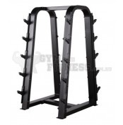 Barbell Rack  Dimensions (L×W×H):     97cm × 76cm × 145cm   For more info visit: http://www.gymandfitness.com.au/diamond-series-barbell-rack.html