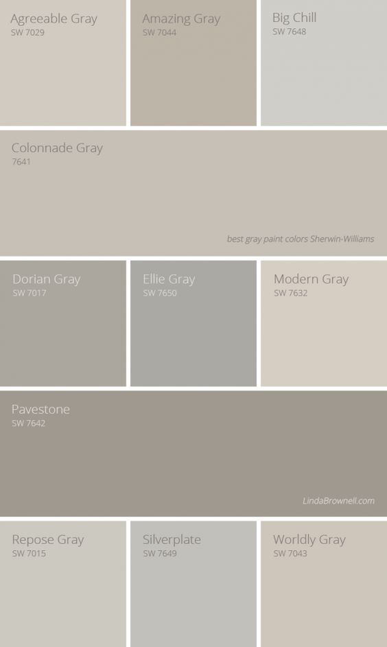 amazing bedroom gray color schemes | 11 Most Amazing Best Gray Paint Colors Sherwin Williams to ...