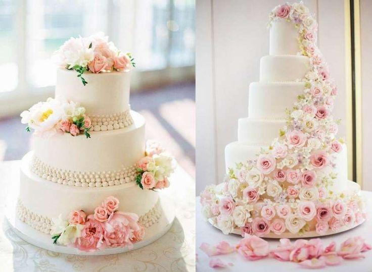 Idee per torte nuziali con le rose - Torte nuziali con le rose