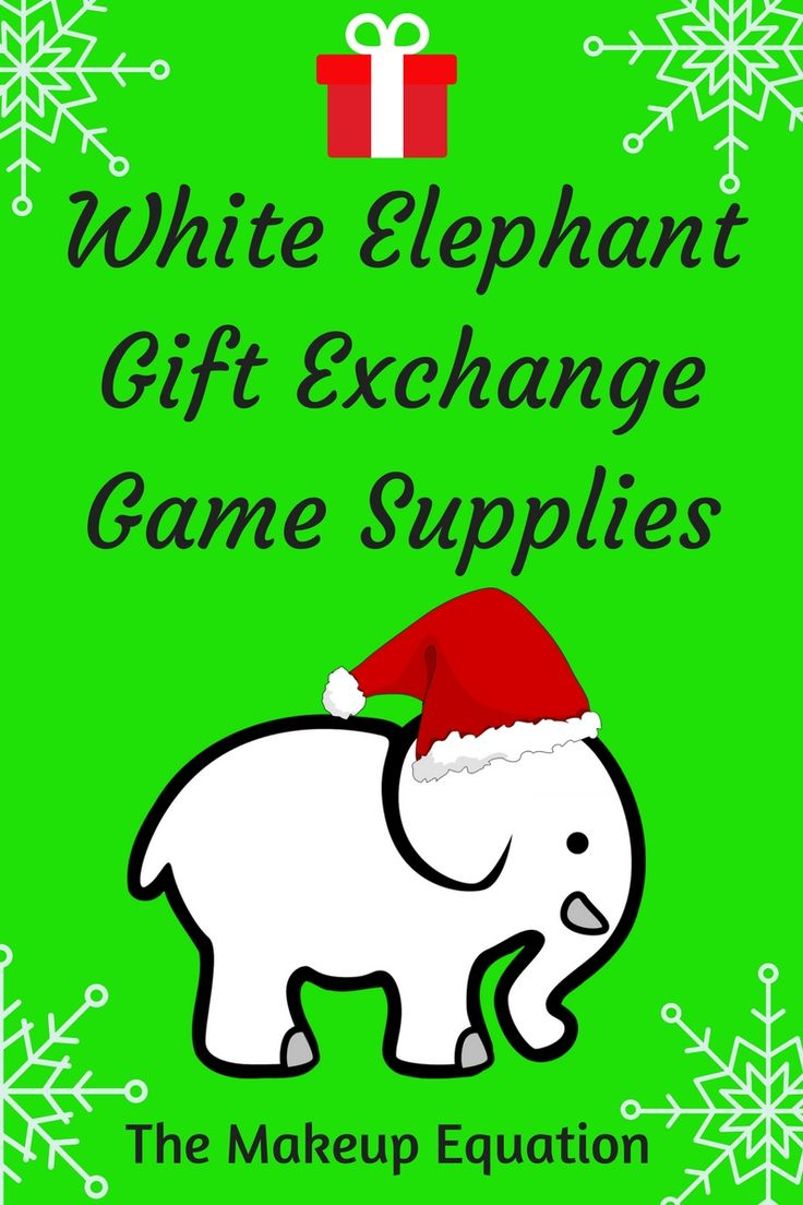 Are you planning on having a white elephant gift exchange this year at your holiday party? Here is a list of essentials and supplies you need to make your party run smoothly.