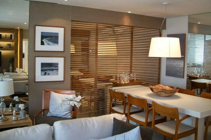 Exemplo de divis ria cor dos m veis parede sala de for Idea decorativa sala de estar pequeno espacio