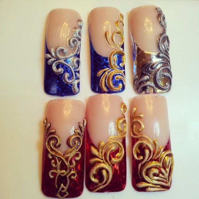 162 best Idee Nail art images on Pinterest | Nail design, Cute nails ...
