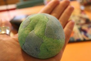 Hands on learning #Earth #layers #homeschool