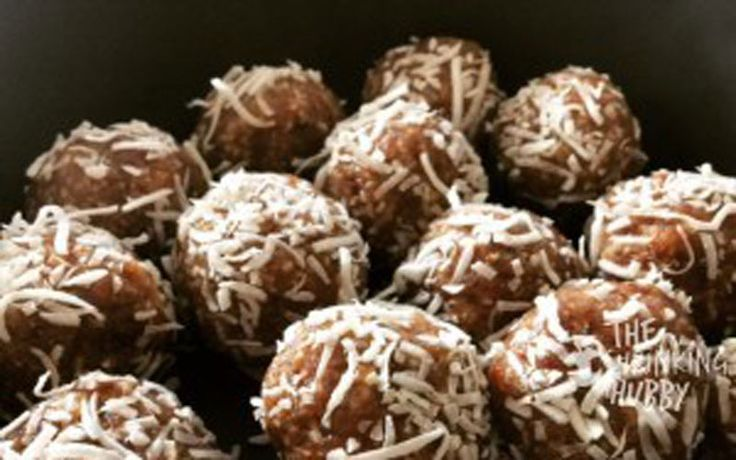 Salted Caramel, Pecan and Coconut Truffles