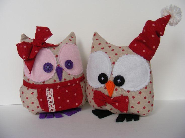 X-mas owl by ki-quilt Katja Iovleva