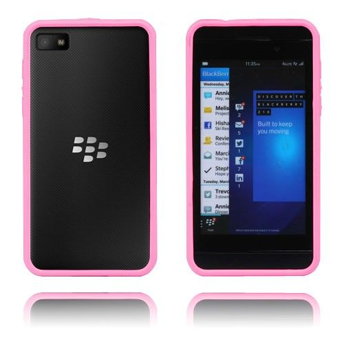 Anti-Shock (Rosa) Blackberry Z10 Bumper