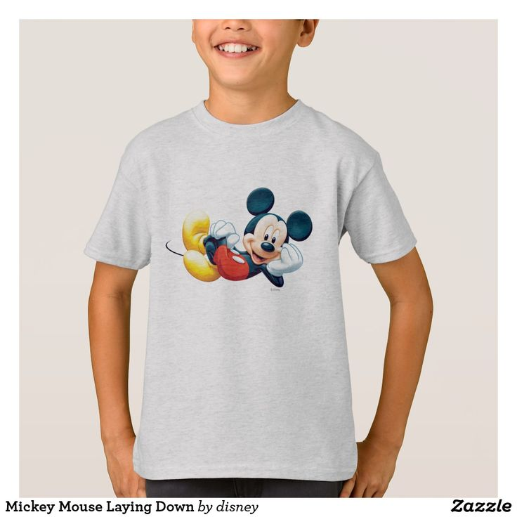 Mickey Mouse Laying Down T-shirt