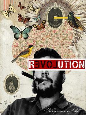 "Saatchi Online Artist Elo Designer; New Media, ""Che Guevara - Public Figures Collecton by elo"" #art"