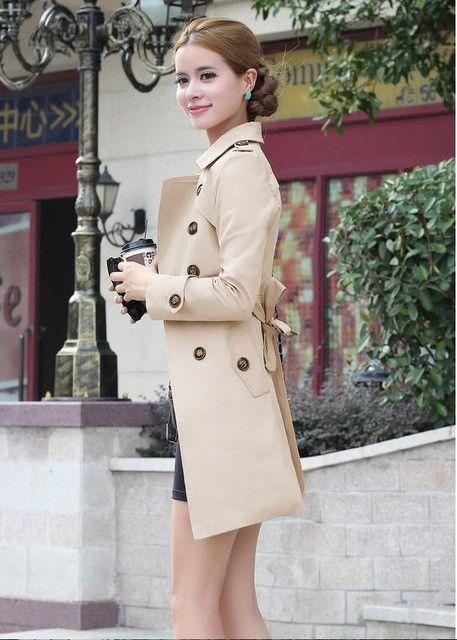 female winter trench coat women long coats manteau femme overcoat palto 2016 abrigos mujer casaco sobretudo feminino bayan mont