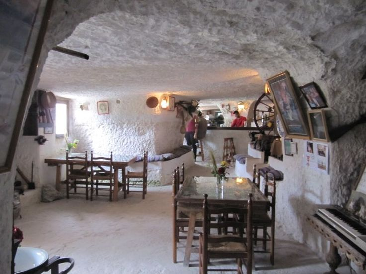 Casas cueva en Alcalá del Júcar