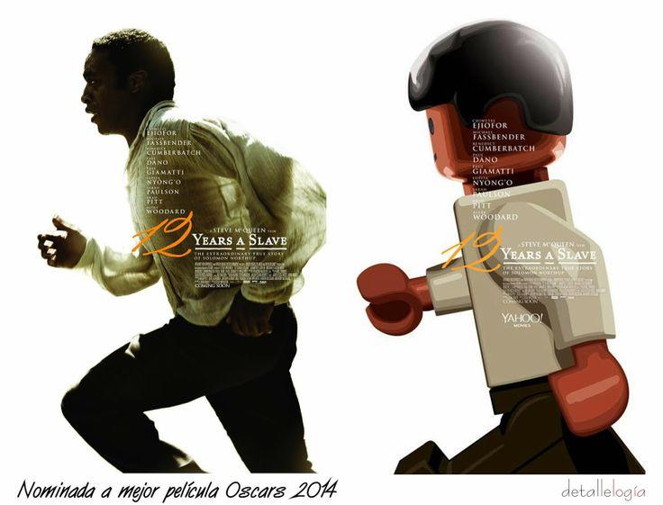 12 years a slave-Peliculas nominadas al Oscar 2014 by LEGO