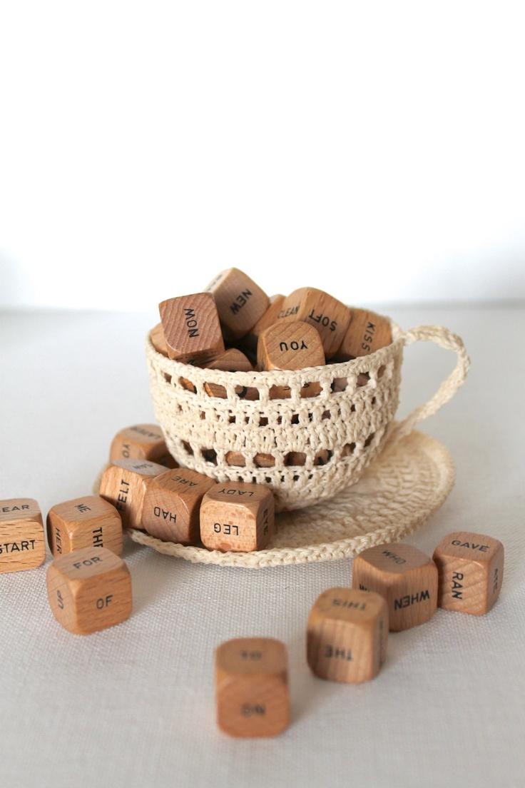 CREAM Crochet Tea Cup