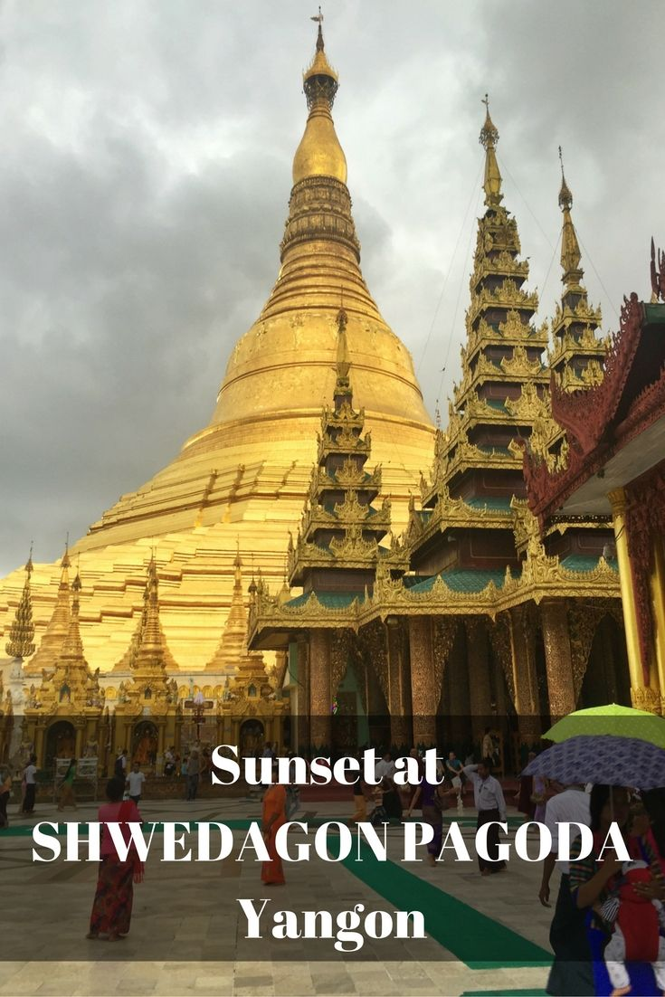 Visiting the Shwedagon Pagoda at sunset was the highlight of our day in Yangon with kids. This is Myanmar's most sacred pagoda and one of the most impressive temples you will visit anywhere!