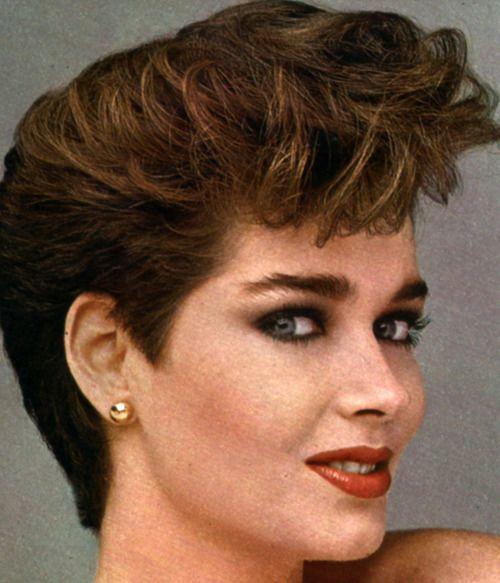 1980s hair style