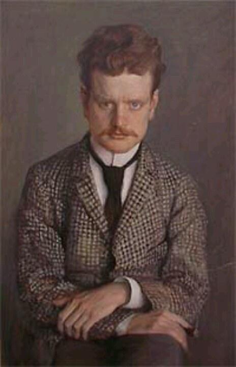 Eero Järnefelt - potrait of Jean Sibelius