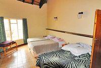 A room at the one-star Satara Rest Camp, Kruger National Park, South Africa