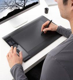 Wacom Intuos4 Pen Tablet <3