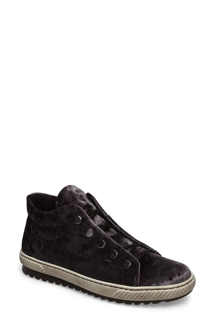Buy GABOR Mid Top Velvet Sneaker online. New GABOR Shoes. [$188.95] SKU XIQO72720COJX84451