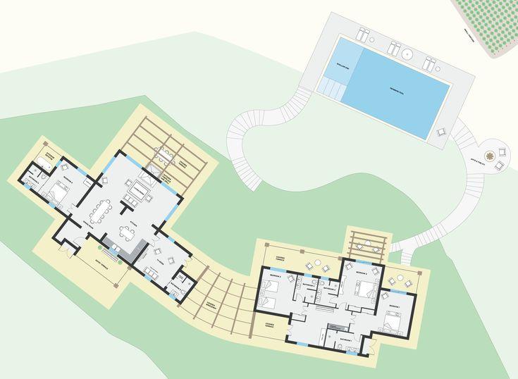 The Farmhouse – Floorplan | La Segreta