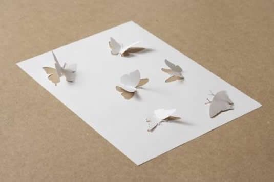 Paper Art    This looks easy enough to imitate and would look good on a card design