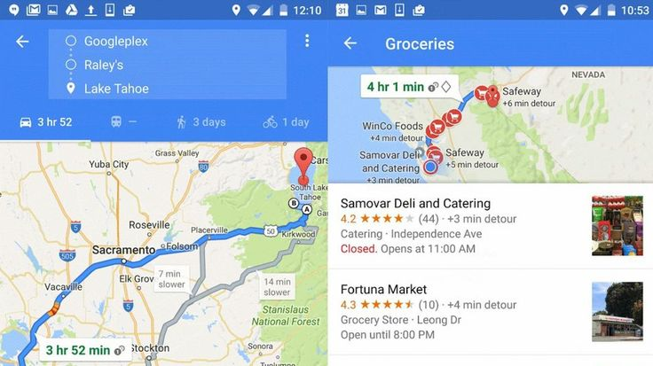 Google Maps now lets you add multiple stops to your trip
