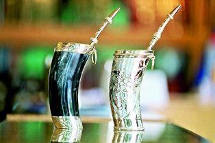 Paraguayans drink their mate cold, called Terere