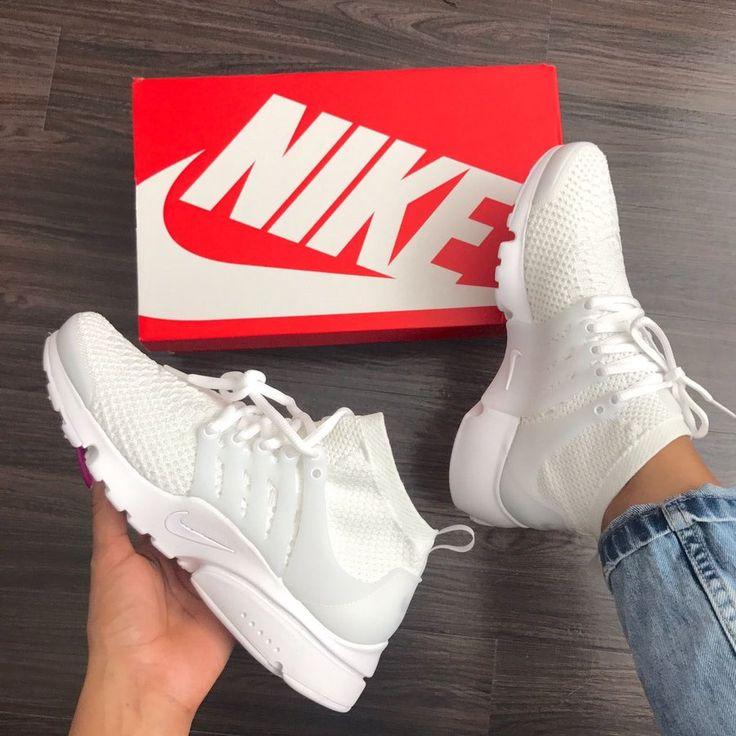 Image of Nike Air Presto Ultra Flyknit White (Men)