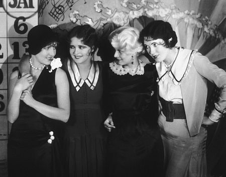 """Saturday Night Kid, The"" Jean Arthur, Clara Bow, Jean Harlow and Leone Lane 1929 Paramount"