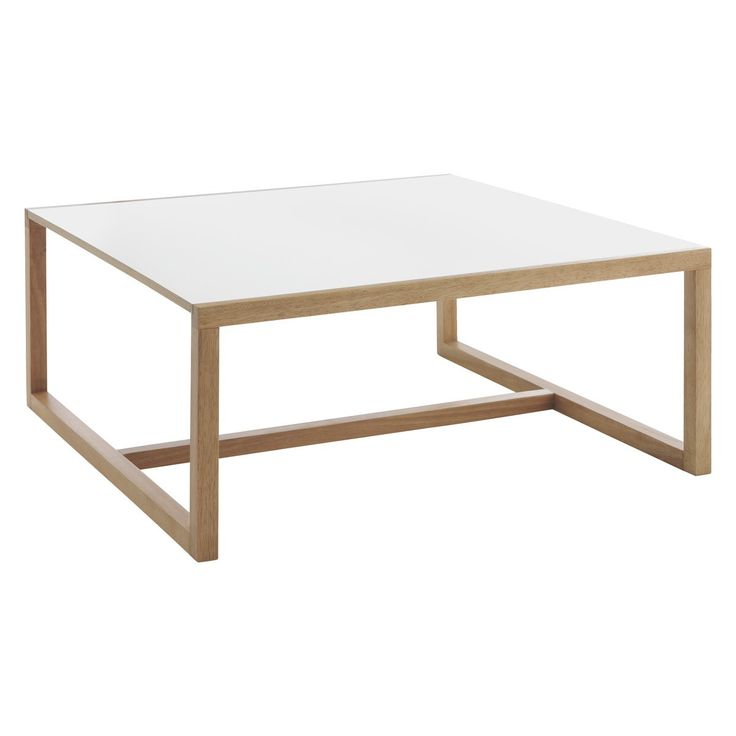 KENSTAL White square coffee table