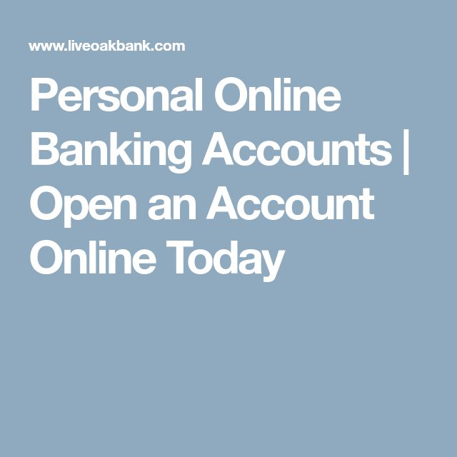 Personal Online Banking Accounts | Open an Account Online Today