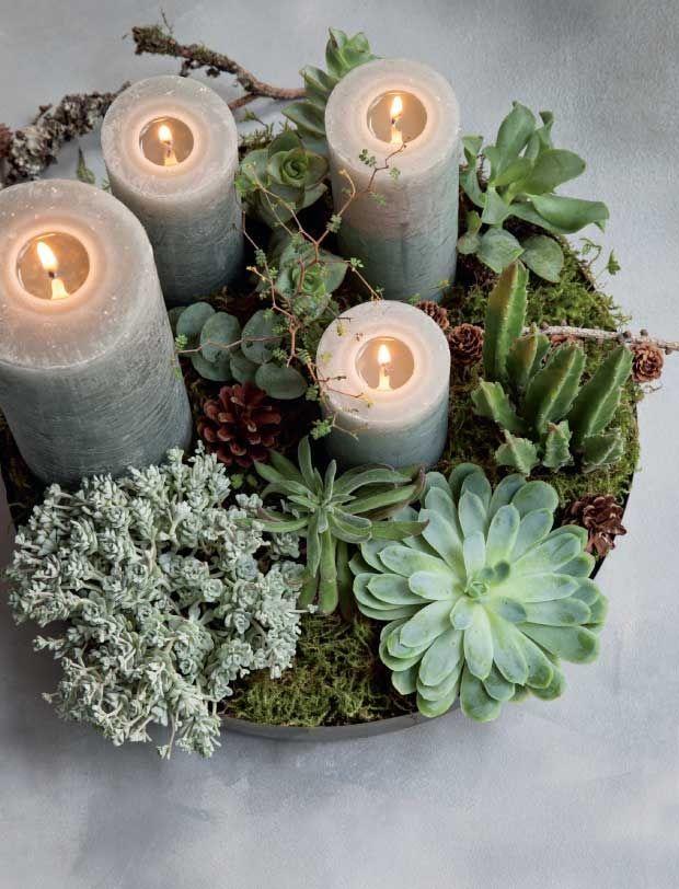 25 adventskranse du selv kan lave
