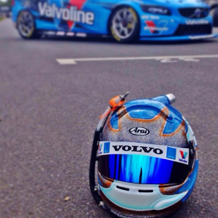Ready for Battle Volvo V8 Supercar Scott McLaughlin