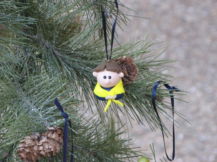Eagle Scout Christmas Ornament