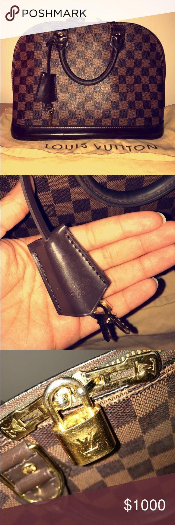 Louis Vuitton Alma Damier NM Authentic Louis Vuitton Alma Damier NM (Can provide receipt) Dust bag included *minor wear Louis Vuitton Bags