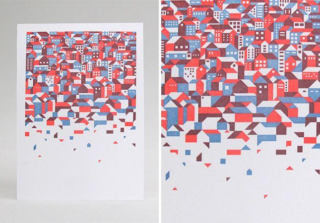 14 Posters That Letterpress It Real Good via Brit + Co.