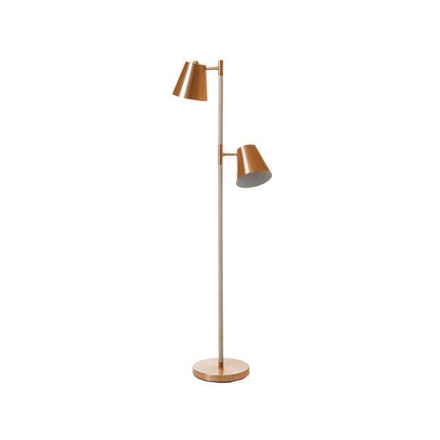Leitmotiv Rubi Vloerlamp - Koper - afbeelding 1