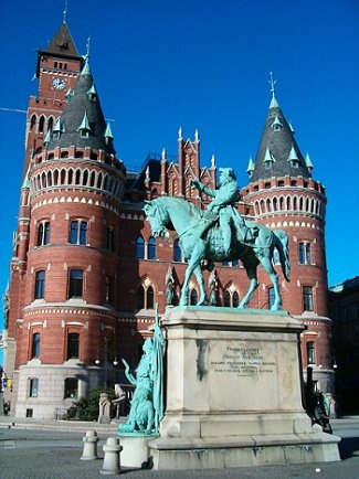 Sofiero Royal Castle. Helsingborg, Sweden. Swedish Royal Family Country Mansion. 1865. King Oscar II.