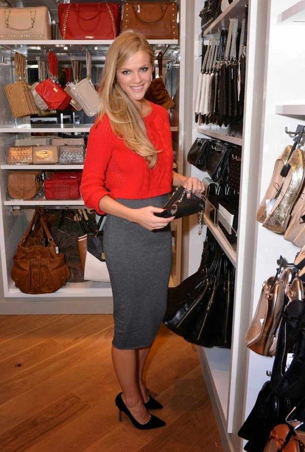 www.editorialite.com / Brooklyn Decker San Francisco Express Union Square Grand Opening