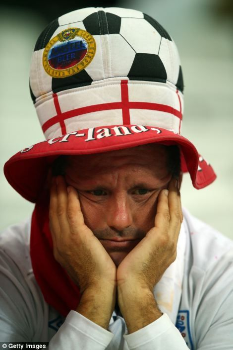 England fans gathered in Sao Paulo and watching at home were put through the mill again to...