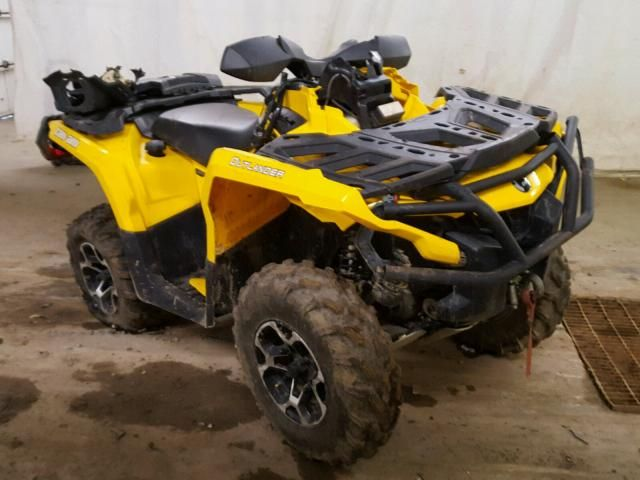 Salvage 2012 Can Am Outlander Atv For Sale Bill Of Sale Title Atv 4 Wheeler Salvage