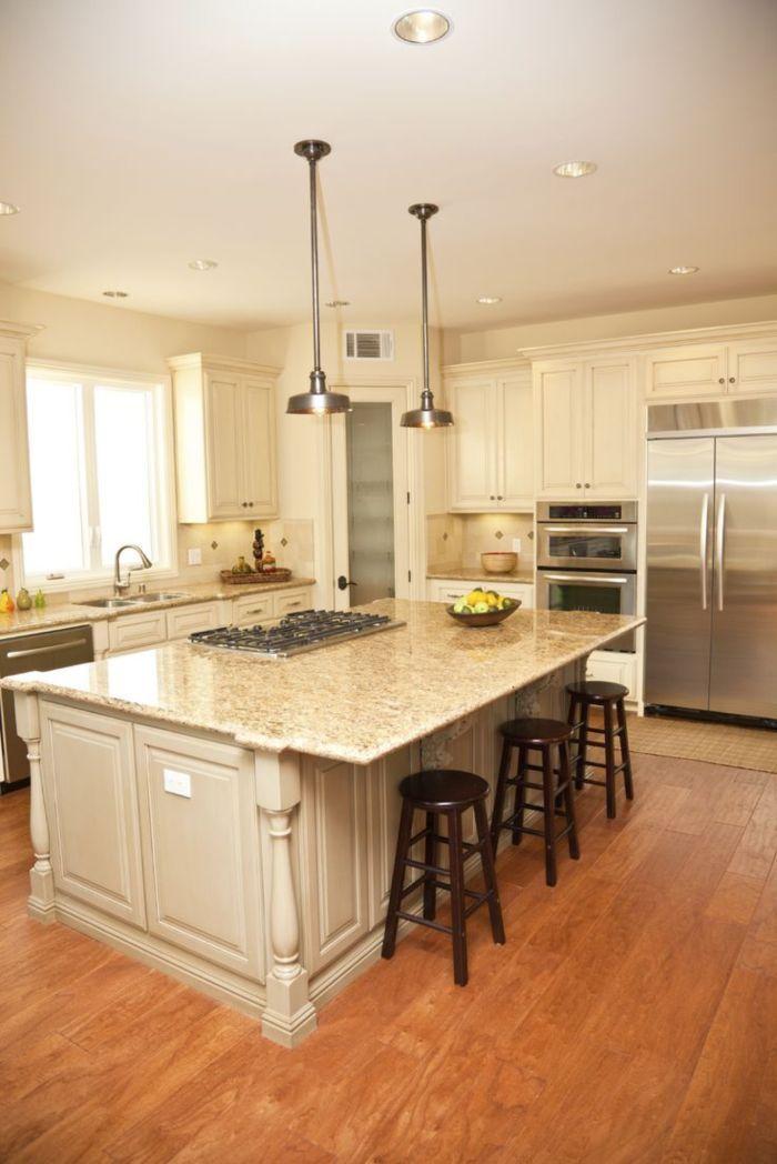 Deluxe custom kitchen island designs (2)