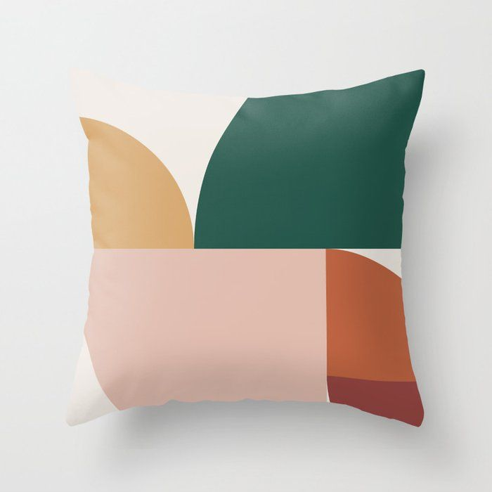 Buy Abstract Geometric 11 Throw Pillow By Theoldartstudio Worldwide Shipping Available At Society6 Com Just One Of Millions O Throw Pillows Pillows Geometric