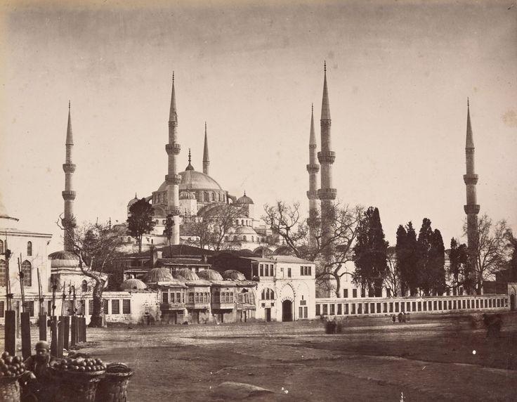 Sultan Ahmet Camii Abdullah Fréres / 1865