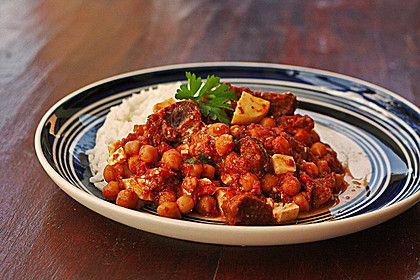 Afrikanisch-orientalisches Gulasch, ein sehr schönes Rezept aus der Kategorie Kochen. Bewertungen: 37. Durchschnitt: Ø 4,1.