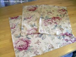 Make your own throw pillow cover (maybe try without piping and without sewing)