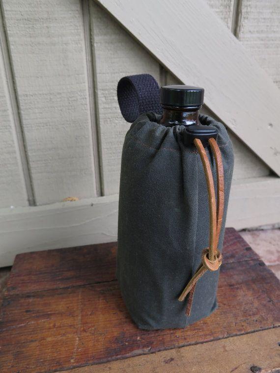 Growlette Bag - Growler Caddy - 32 oz Growler Bag - Growler Tote - 32 ounce Growler Cozy - 32 oz Growler Carrier
