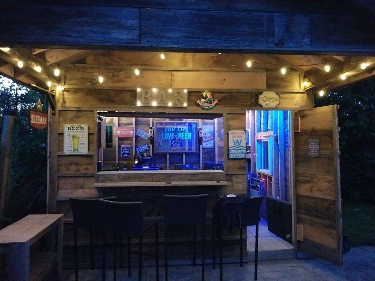 Barn Board Bar Shed Tikki Bar Pinterest Tikki Bar