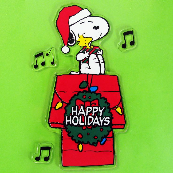 It's a Peanuts Christmas Window Wonderland! Decorate windows, mirrors, car windows and more with Snoopy and Charlie Brown gel clings, available in our shop at CollectPeanuts.com.